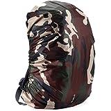 Meiyiu Adjustable Waterproof Dustproof Backpack Rain Cover Portable Ultralight Shoulder Bag Case Raincover Protect for…