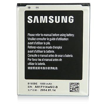 2a5512bcd5f Bateria Original Samsung Galaxy Core Plus EB-B185BE: Amazon.es: Electrónica