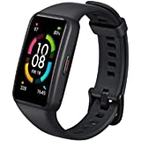 """Honor Band 6 Smart Wristband 1st Full Screen 1.47"""" AMOLED Color Touchscreen SpO2 Swim Heart Rate Sleep Nap Stress All-in-One"""