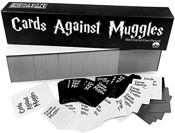 Tarjetas contra Muggles Juegos De Fiesta Tarjetas para Adultos (Humorísticos Peligro) Hacer Amigos Juegos De Mesa para Adultos para Grupos: Amazon.es: Hogar