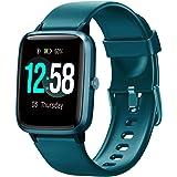 Blackview Smartwatch Fitness Tracker Watch Hombres Mujeres, Reloj Inteligente Deportivo con 5ATM Muñeca Pulsómetros de…