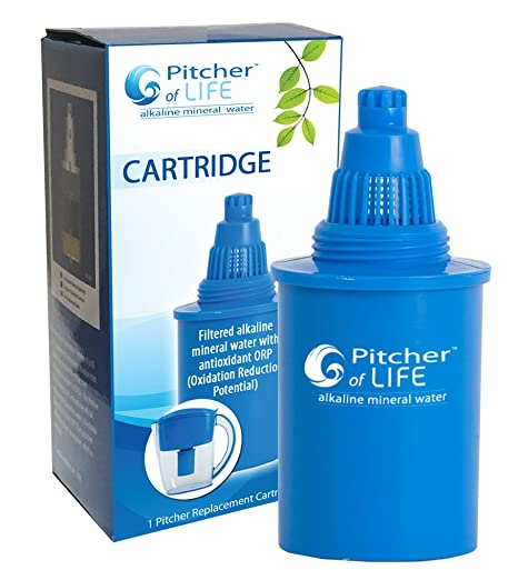 amazon com pitcher of life alkaline water pitcher 2nd generation