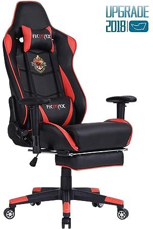 Ficmax Talla Grande Silla de Oficina Gaming ergonómico y Confortable ...