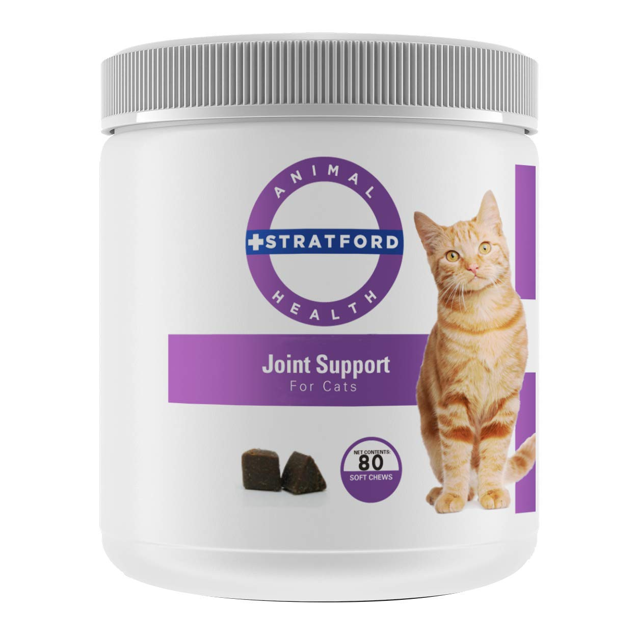 Stratford Pharmaceuticals Joint Support for Cats (80 Soft Chews) by Stratford Pharmaceuticals