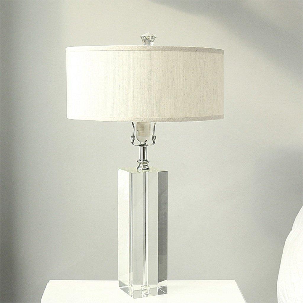 Hanlon E27-Schraubsockel, Tischlampe Hotel Bedside Kristall Lampe Wohnzimmer Schlafzimmer Tischlampe Tischlampe Home Decoration