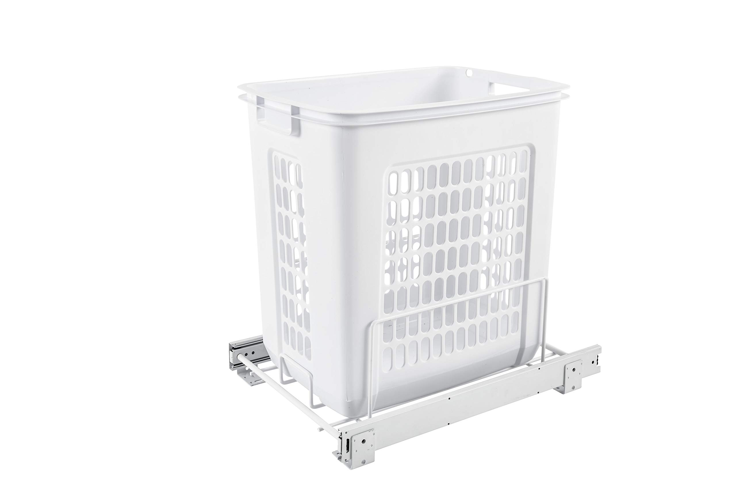 Rev-A-Shelf Pullout Hamper, White by Rev-A-Shelf