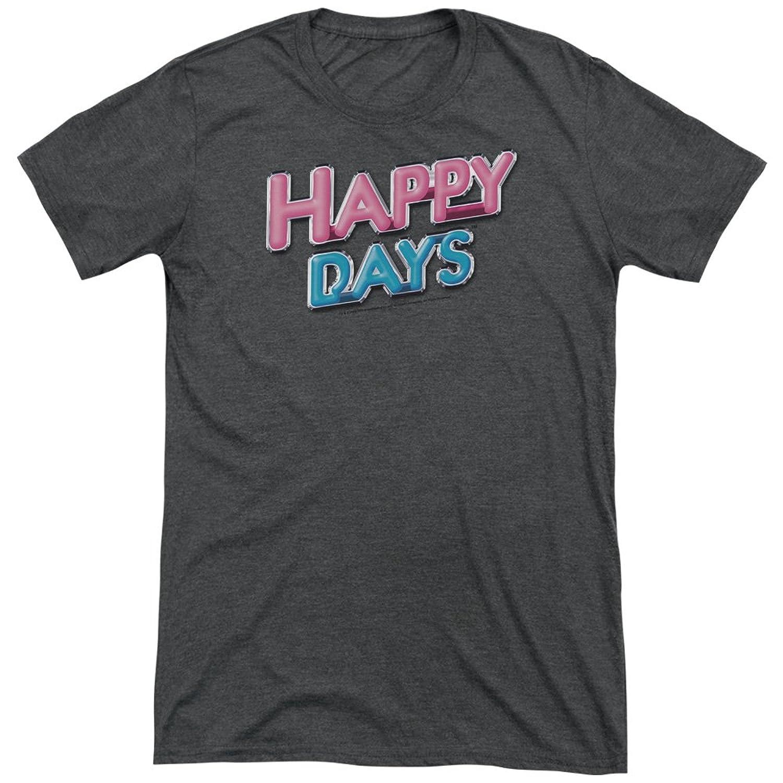 Happy Days Men's Happy Days Logo Tri-Blend T-Shirt