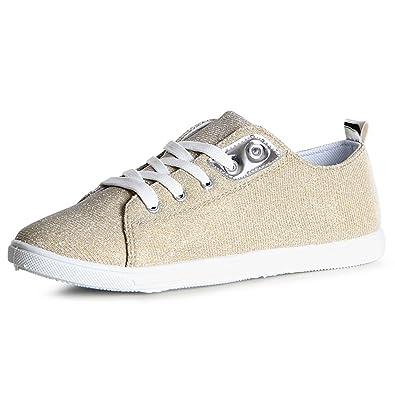 Sneaker von topschuhe24 in Gold für Damen