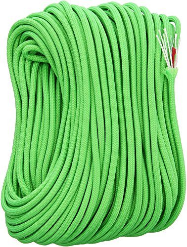 FireCord 100ft Safety Green