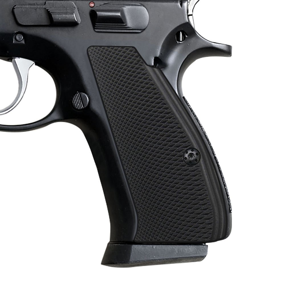 Cool Hand G10 Grips for CZ 75/85 Compact, Free Screws Included, Black, Brand by Cool Hand