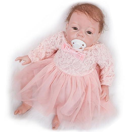 Amazon.com: Muñecas de bebé reborn de aspecto real de 22.0 ...