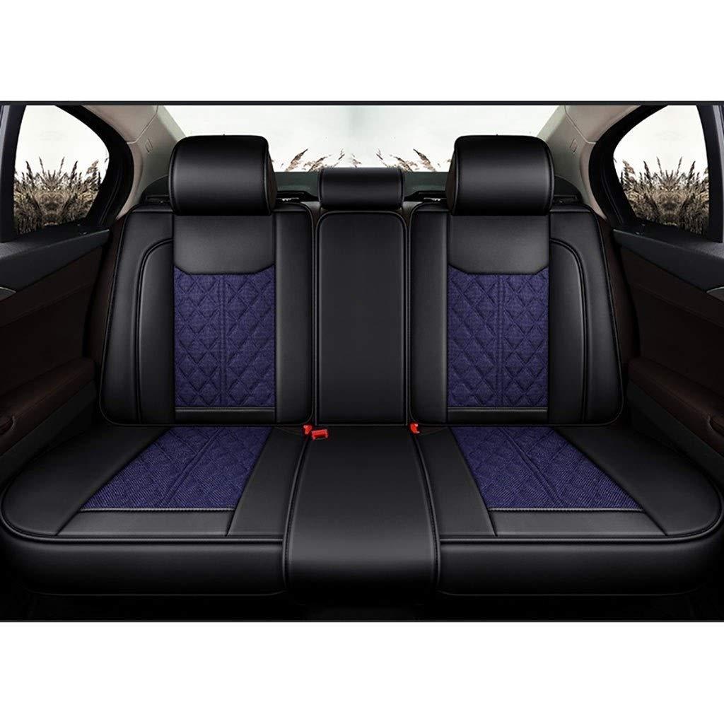 Seat Covers KBZW Car Seat Covers Set Universal Linen Car Seat ...