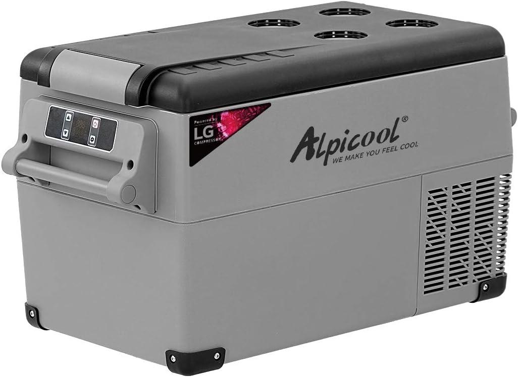 20//35L Portable Mini Refrigerator 12//24//240V Car Camping Home Fridge Picnic