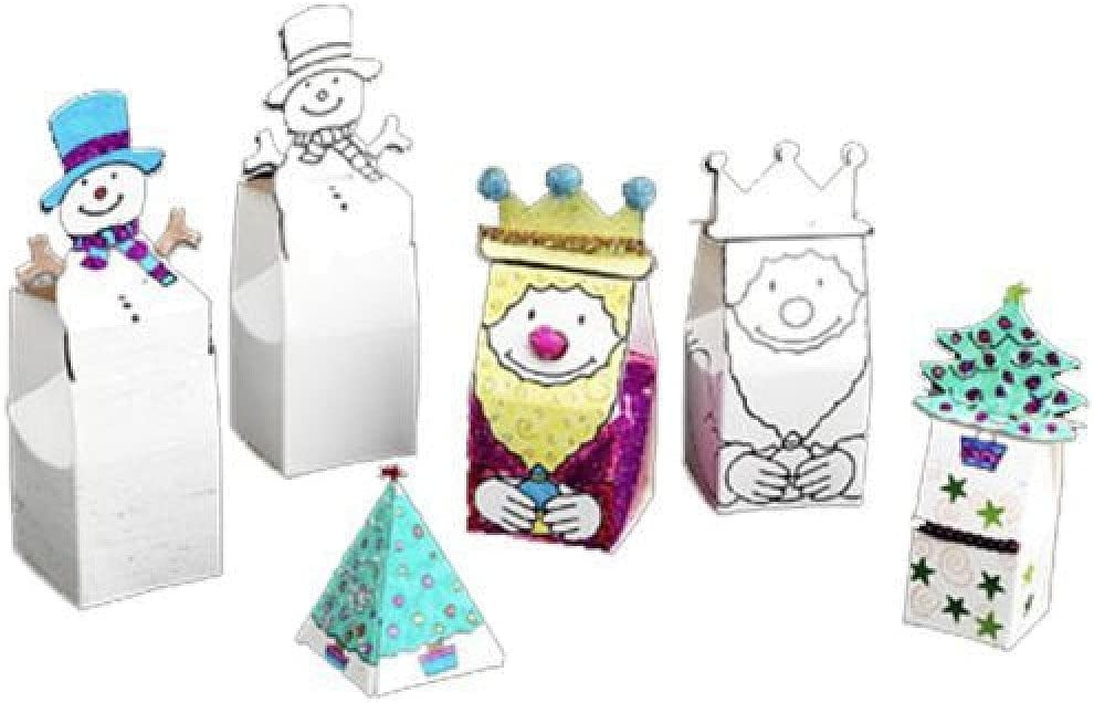 Christmas Art And Craft Gift Boxes Amazon Co Uk Toys Games