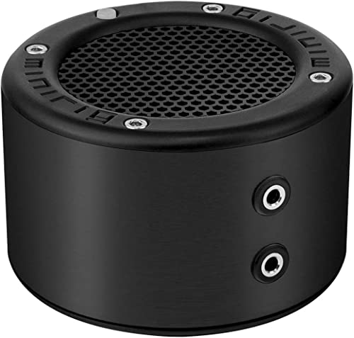 MINIRIG Mini Portable Rechargeable Bluetooth Speaker – 30 Hour Battery – Premium Stereo Sound – Black