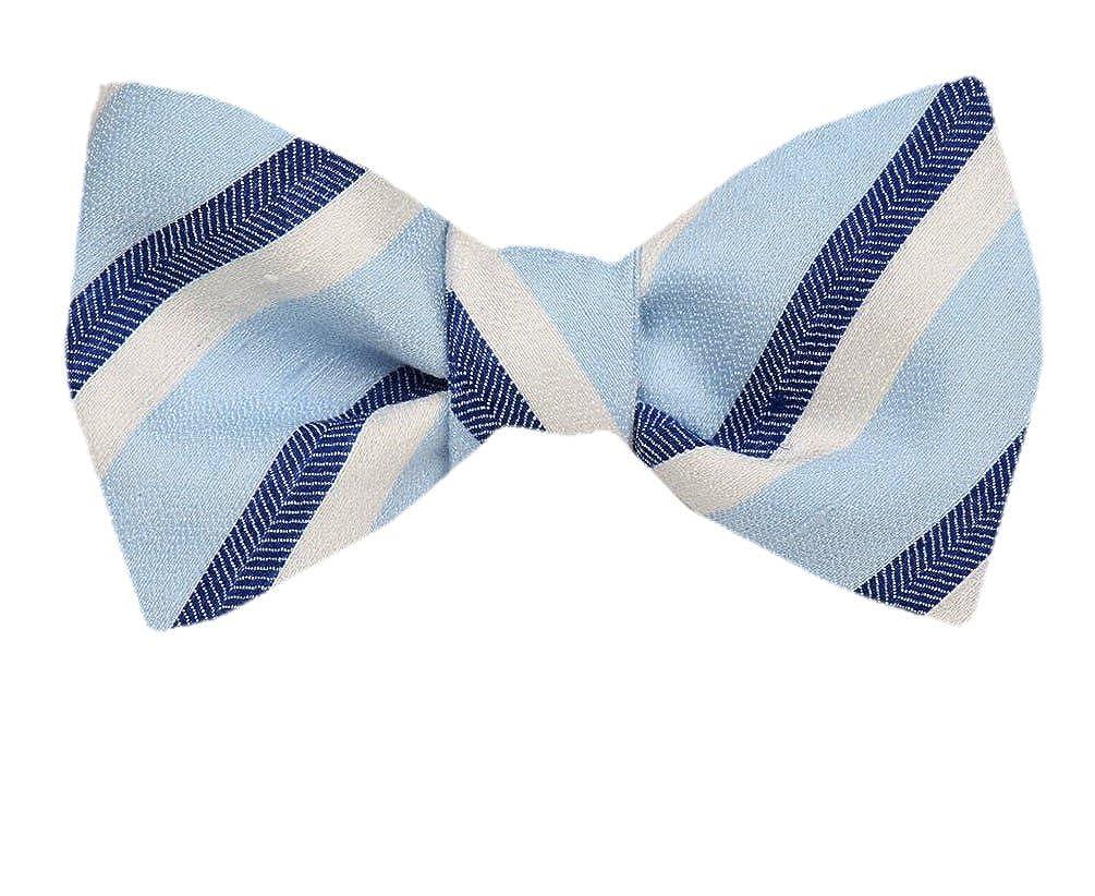 Mens Silk Self Tie Bowtie Tie Yourself Bow Ties FBTZ-1333