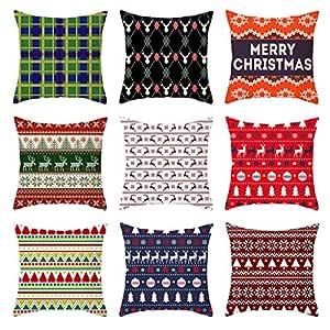 Lookhy 2020 Merry Christmas - Funda de Almohada Personalizable ...