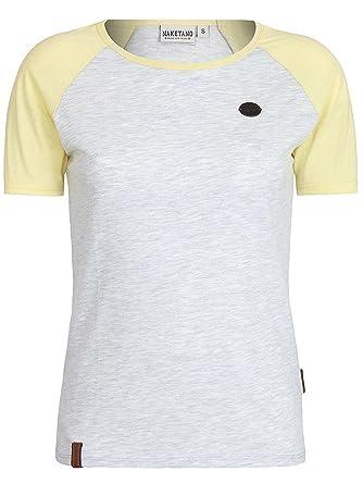 Naketano Damen T-Shirt Gebumst Wie Gebämst II T-Shirt  Amazon.de ... 3a02e5f24c