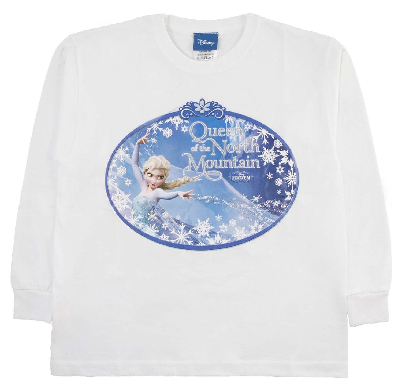 AUTHENTIC Disney Frozen Girls Long Sleeve Top Elsa /& Anna 100/% Cotton Disney UK