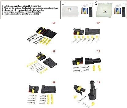 Connecteur connecteur Etanche Connecteur set 3 broches