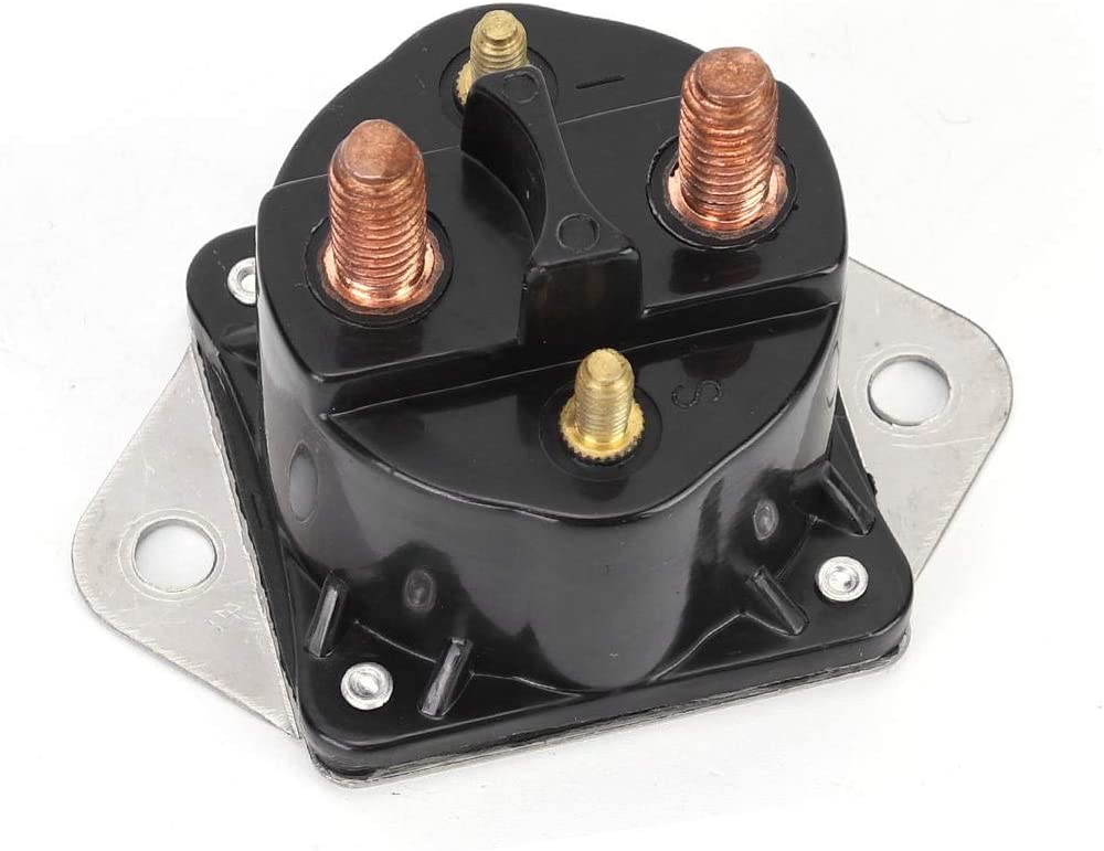Winch Solenoid Relay 12V Control Replacement 4 Terminal 72631 28631 for Johnson Evinrude outboard engine B80 SW275.