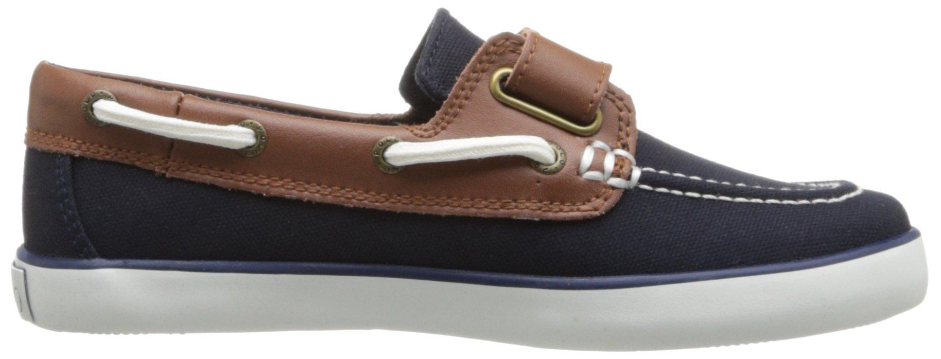 Polo Ralph Lauren Kids Sander-CL EZ Sneaker ,Navy,10.5 M US Little Kid by Polo Ralph Lauren (Image #6)