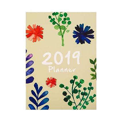NNGUBIU 2019 - Agenda planificadora mensual con diseño de ...