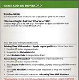 Injustice : Gods Among Us - Zombie Mode & Skins - Blackest Night Skins & Missions DLC Code Card XBOX 360