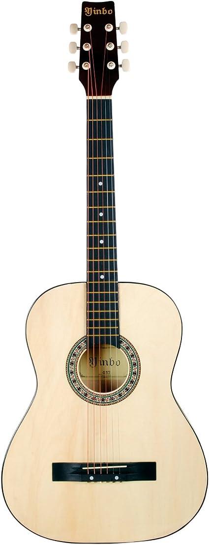 Hapilife Guitarra acústica 3/4 (tamaño cadete) para principiantes ...