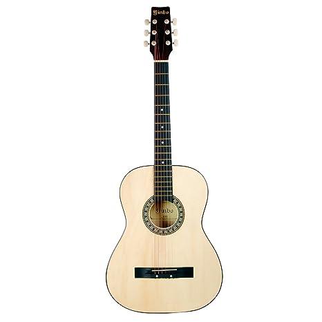 Hapilife Guitarra acústica 3/4 (tamaño cadete) para principiantes, niños y jóvenes