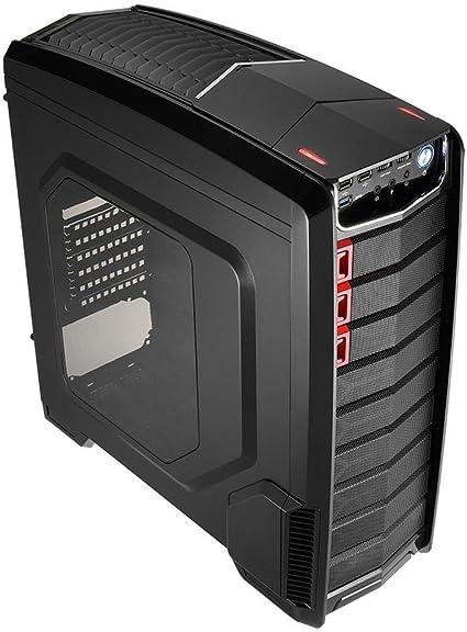 Aerocool GTA - Caja gaming para PC (semitorre, ATX, ventana ...