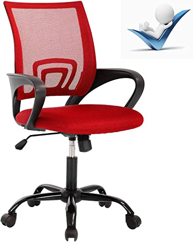 Ergonomic Office Chair,Mid Back Home Office Chair Mesh Office Chair