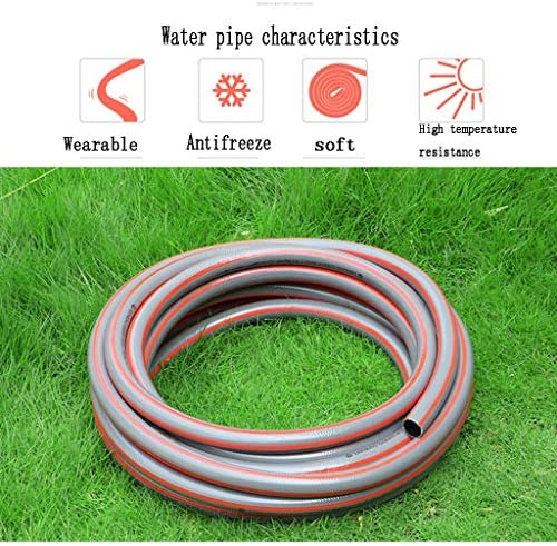 BBGS Pvc Antifreeze Plastic Hose, 1 Inch(25mm) Water Pipe Garden Rubber Hose 25mm Agricultural Watering Flowers Tube (Size : 5m)