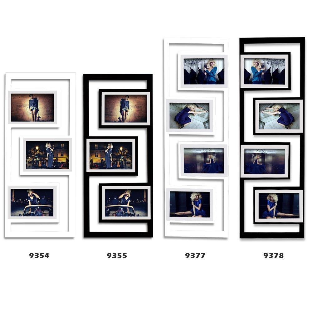 Amazon.de: WOLTU BR9378 Bilderrahmen für 4 Bilder, 10X15 cm Foto ...