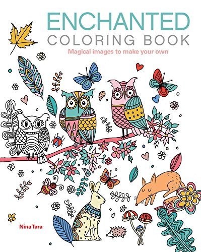 Enchanted Coloring Book: Magical images to make your own ...