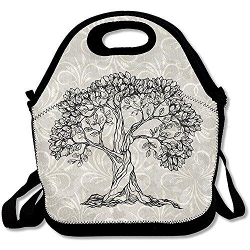 Printing Lunch Box Bodhi Tree Lunch Bag