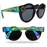 MightySkins Protective Vinyl Skin Decal for Snapchat Spectacles wrap cover sticker skins Psychedelic