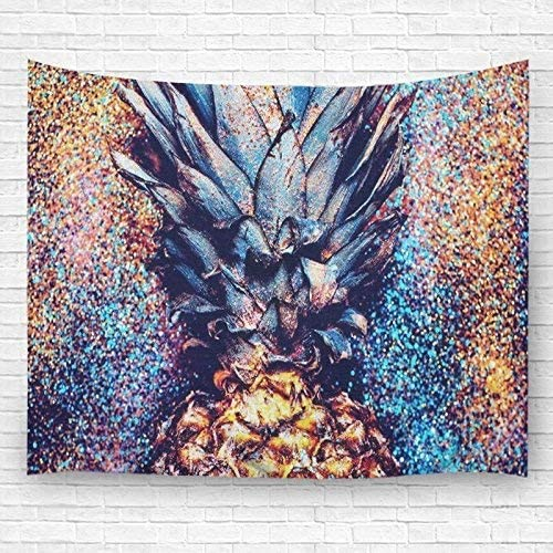 Pdhome Pineapple Shine Wall Tapestry