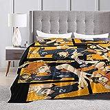 JOLINY Haikyuu Fleece Blanket Soft Warm Living Room