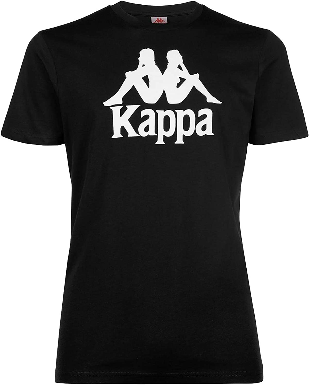 Kappa Authentic ESTESSI Slim T-Shirt Bambino Nera