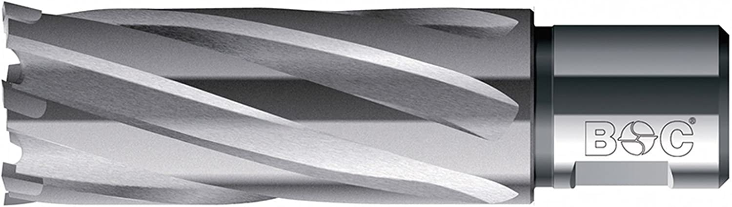 Bohrcraft Carbide Core Drill Bit with Weldon Shank 3//4/Inch 1/Pack of 19520303055 30/x 55/mm Cutting Depth In Quadro Pack