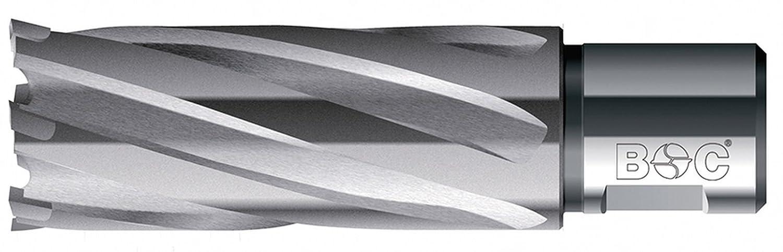 Bohrcraft HM-Kernbohrer mit Weldonschaft 3/4 Zoll, 60,0 x 55 mm Schnitttiefe in QuadroPack, 1 Stück, 19520306055