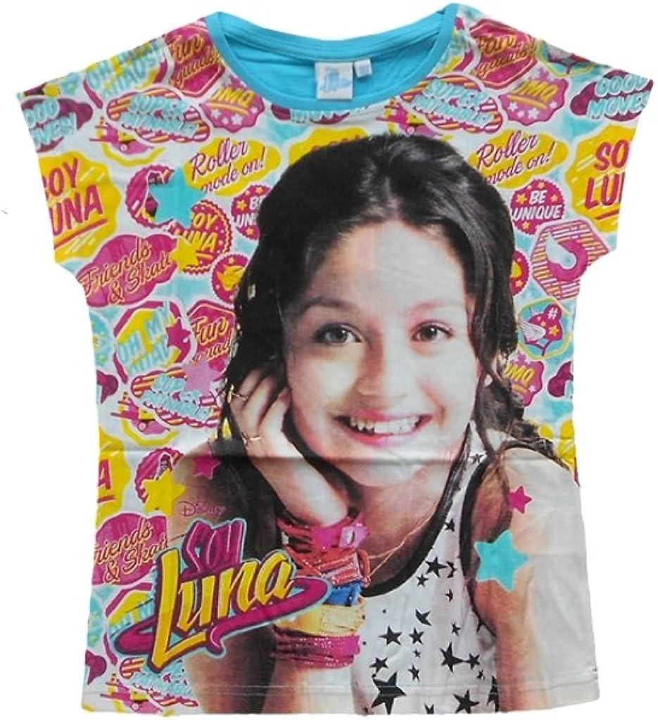 Soy Luna Camiseta de manga corta para ni/ña