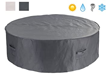 Patio Watcher Patio Furniture Cover Waterproof Outdoor Table Cover Bistro  Small Round Furniture Set Cover 60