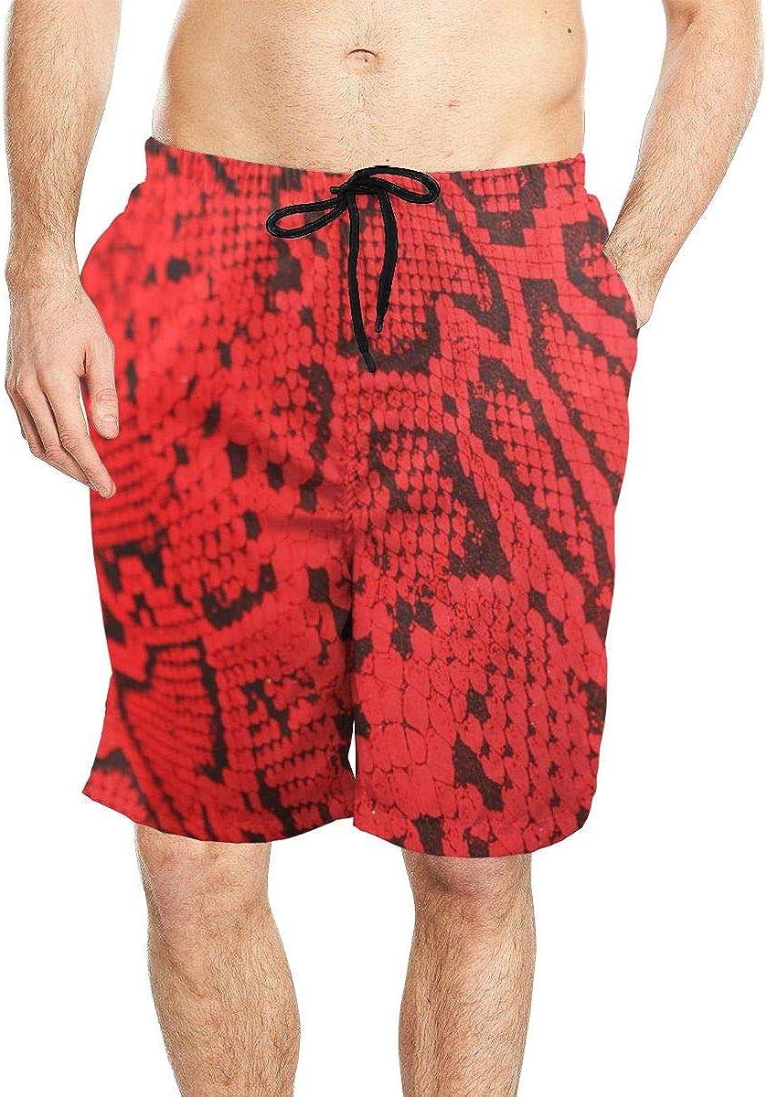 Dont Tread On Me Snake Pattern Summer Surfing Trunks Beach Shorts for Men