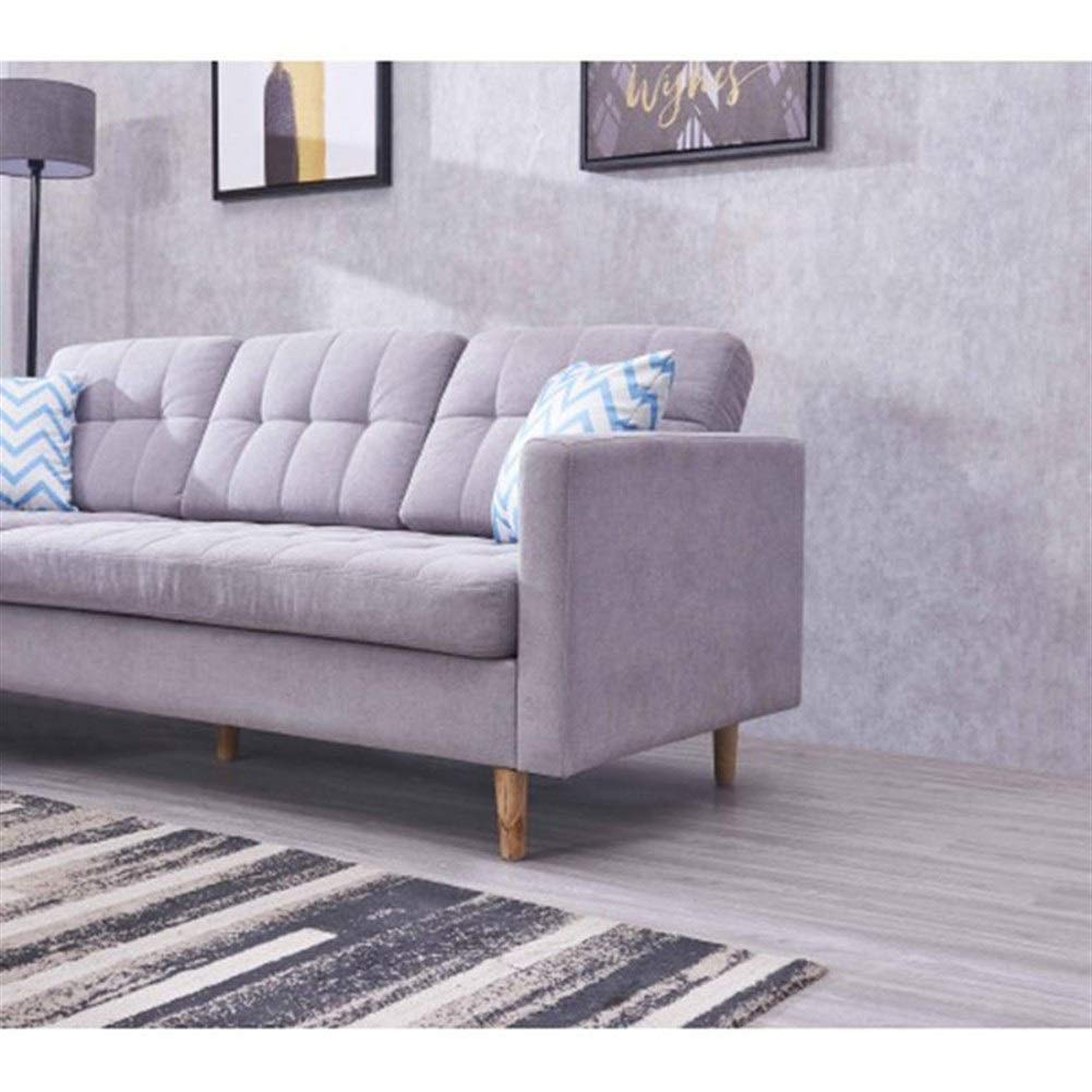 Lin Feng Xin Mu Cai Muebles Sofá Sofá de Tela seccional ...