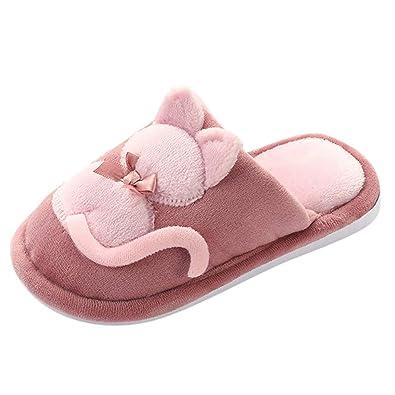 RYTEJFES Zapatillas De Casa para Niño Zapatos De Interior ...