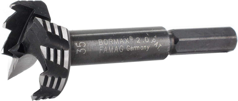 FAMAG Bormax Ws Forstner-Bits 12 X 57 X 90 Mm Tige 8 Mm