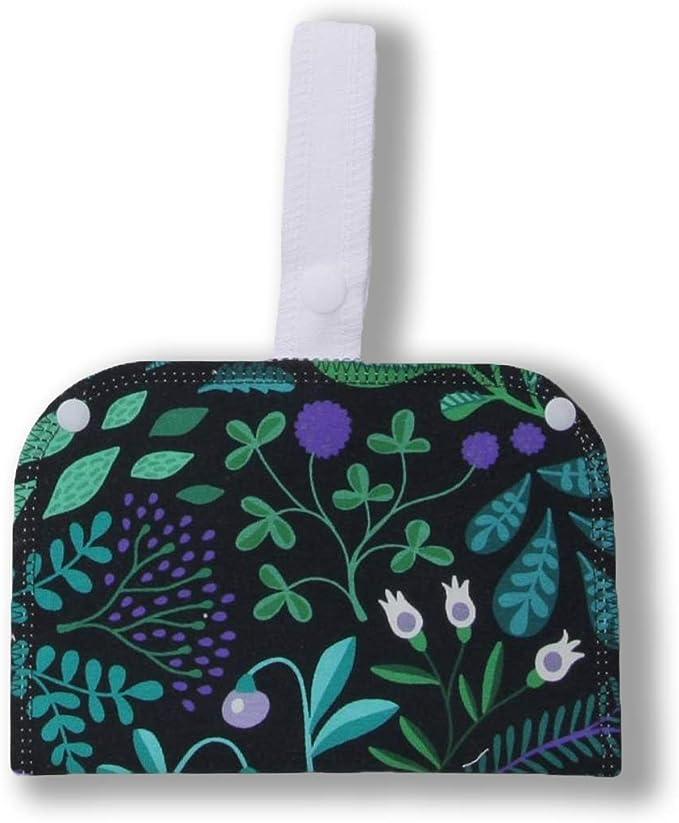 Bolsa Impermeable Doble de Algodón, perfecta para tus productos ecológicos y lavables: salvaslips, compresas, almohadillas de maquillaje y de lactancia; todo bien guardado y listo para ser reutilizado: Amazon.es: Salud y cuidado