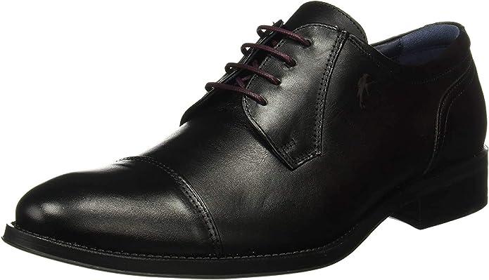 TALLA 42 EU. Fluchos Luca, Zapatos de Cordones Derby Hombre